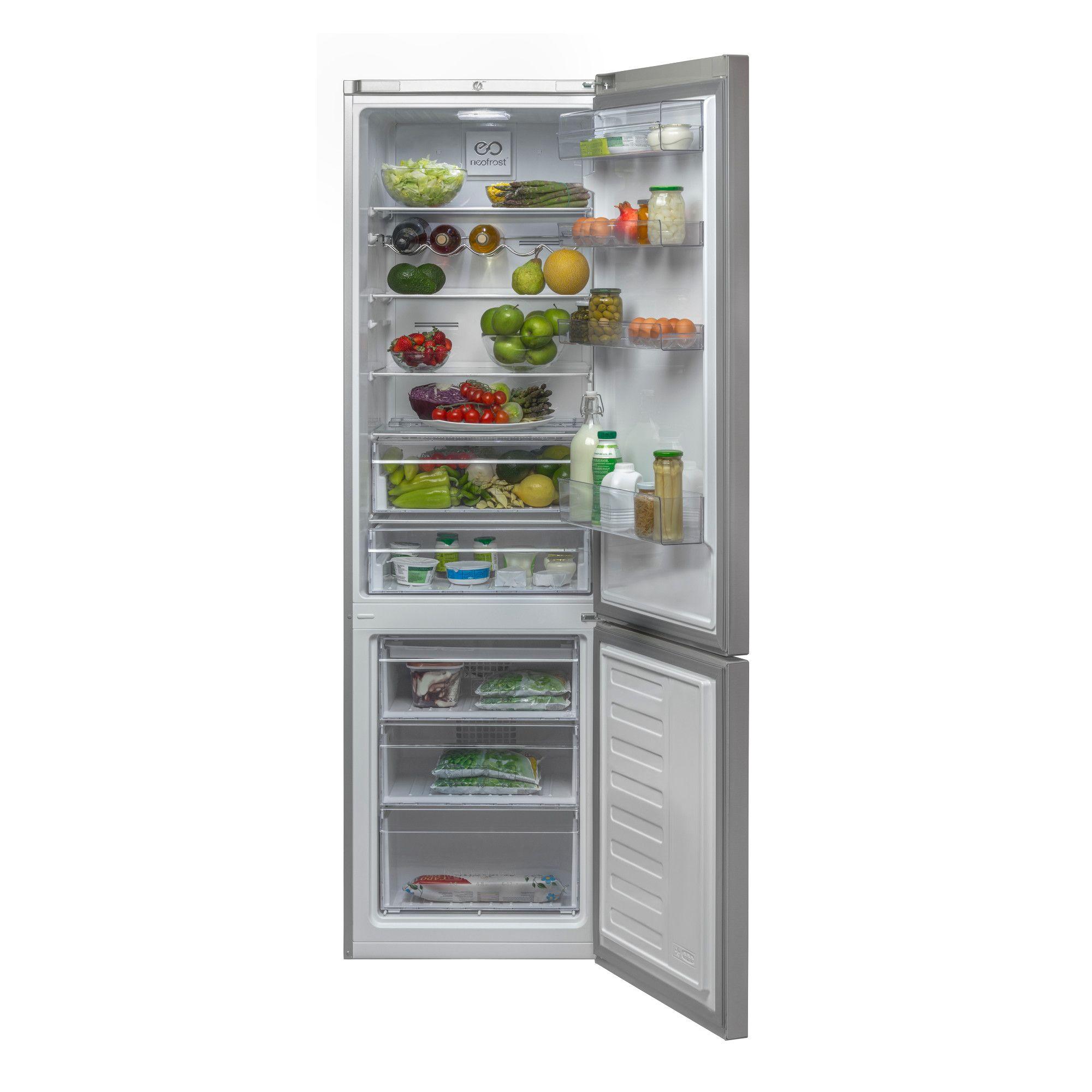 Combina frigorifica Beko RCNA400K20ZX, 347 l, Clasa A+, Inox