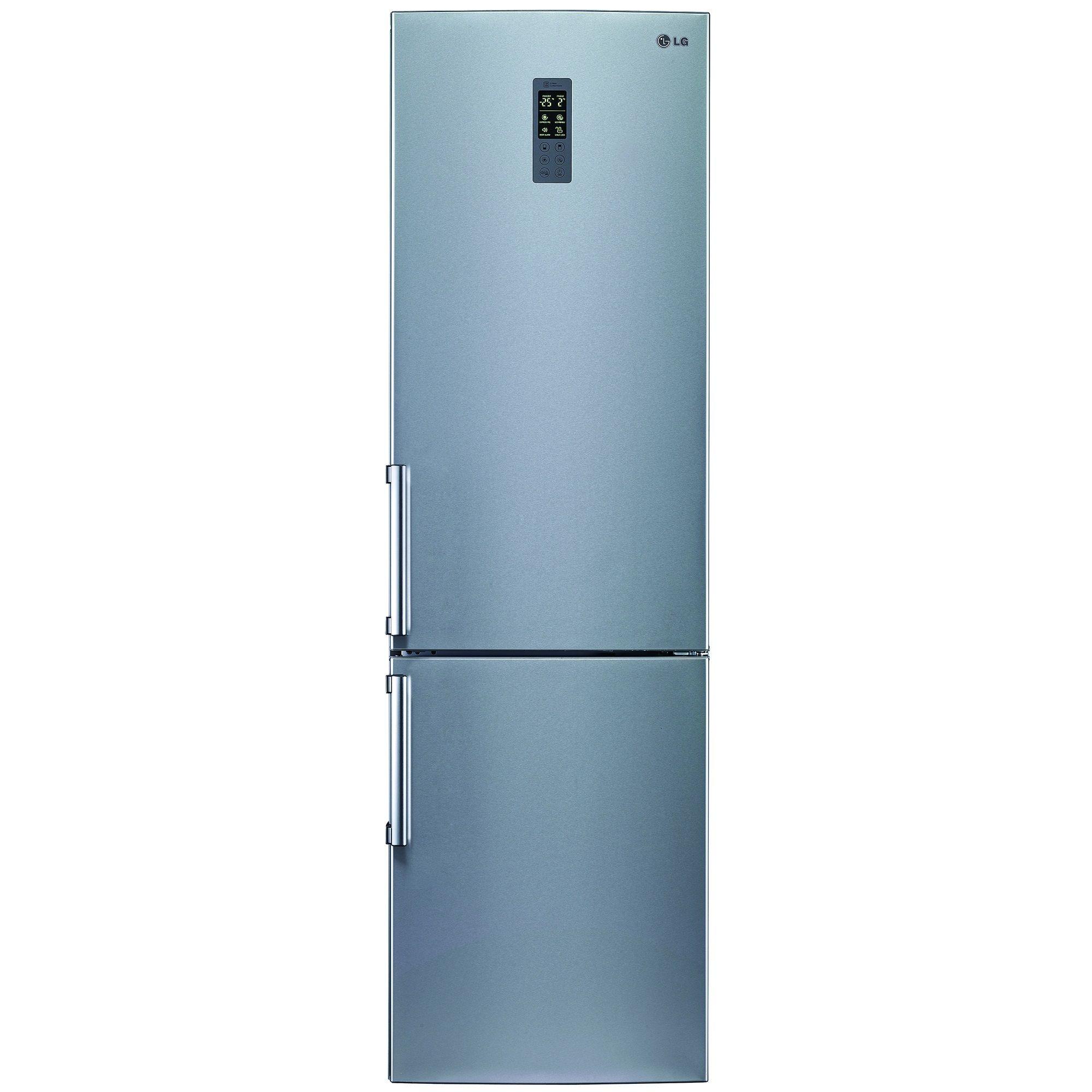 Combina frigorifica LG GBB530PVQPB, 343 l, Clasa Clasa A++, No Frost, H 201 cm, Inox