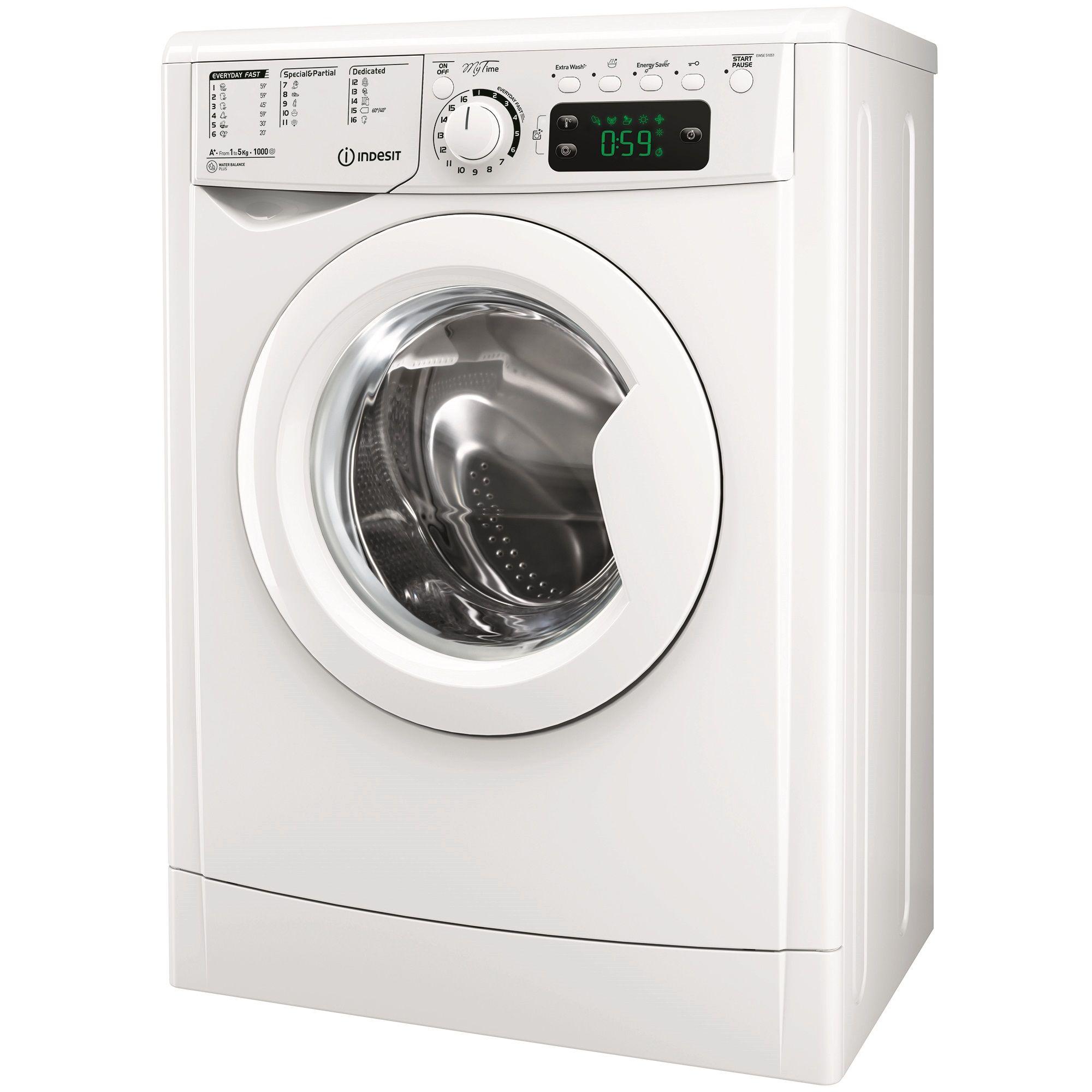 Masina de spalat rufe Indesit EWSE 51051 W EU