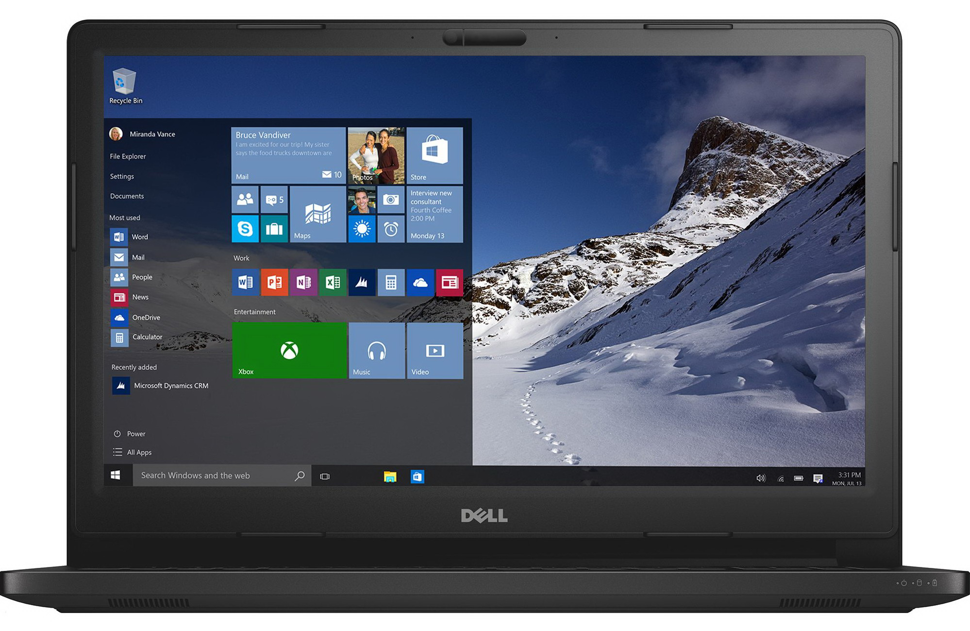 Dell Latitude 15 3000 Series (Model 3570) touch notebook computer, codename Loveland.