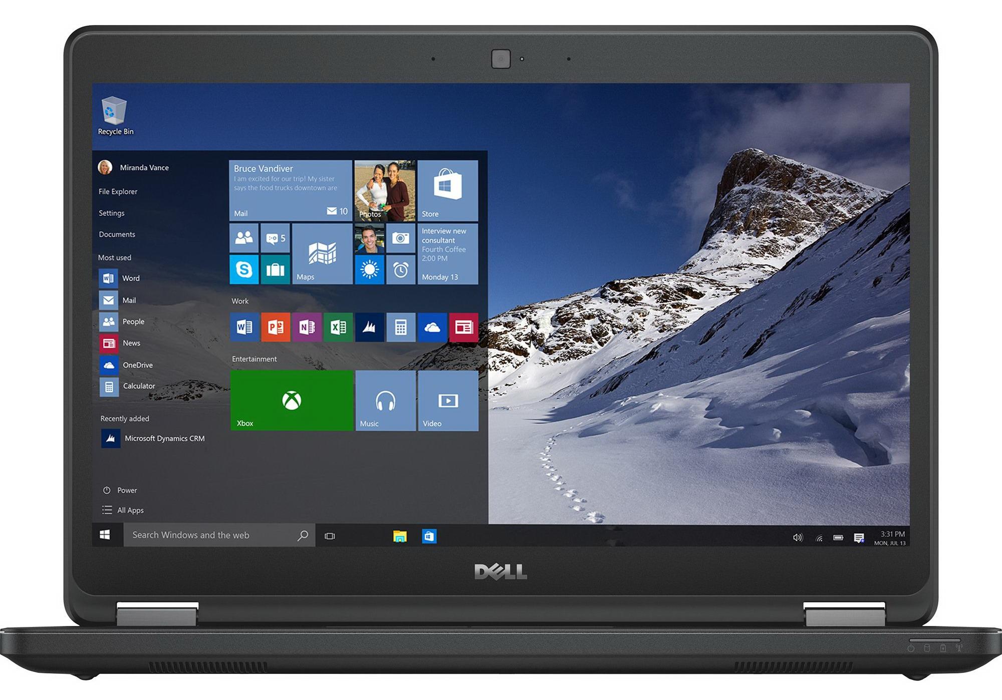 Dell Latitude 14 5000 Series (Model E5450) non-touch notebook computer, codename Houston.
