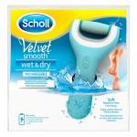 Pila electronica reincarcabila Scholl Velvet Smooth Wet & Dry – pila pedichiura