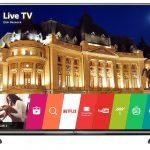 LG 60UH605V – televizor LED Smart cu design metalic modern si ecran IPS 4K de 60 inch!