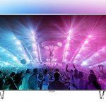 Philips 65PUS7601/12 – televizor LED Smart 4K UHD de 164 centimetri, cu tehnologia Ambilight!