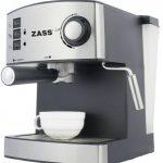 Espressor manual Zass ZEM 04, 850W, 15 bari, 2 portfiltre – cu vaporizator turbo