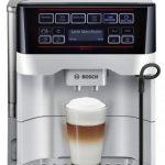 Espressor automat Bosch VeroAroma TES60321RW, 15 Bar, 1.7 l, Argintiu/Gri – prepară orice tip de cafea printr- o simplă atingere