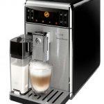 Espressor automat Saeco GranBaristo HD8965/01, 1900W, 15 bar, 1.7 l, recipient lapte 0.5 l, Negru/Inox – poate programa până la şase tipuri de cafea