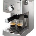 Espressor manual Saeco Poemia HD8427/19, Dispozitiv spumare, 15 Bar, 1.25 l, Inox – creează cafele aromate și spumă cremoasă