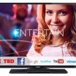 Horizon 24HL733H – televizor LED Smart cu ecran HD de 24 inch si sistem stereo de la Nicam!
