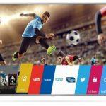 LG 60UH6507 – televizor LED Smart cu design metalic modern si ecran 4K de 60 inch!