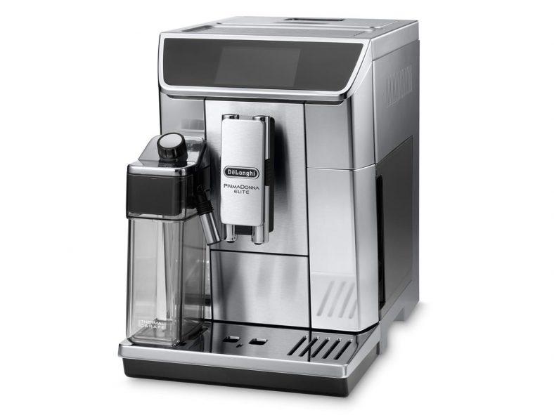 Espressor automat DeLonghi Primadonna Elite ECAM 650.85MS 1450W, 19 bar, 1.8 l, Silver